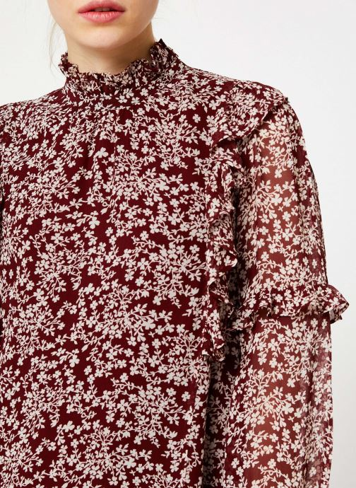 Vêtements Jolie Jolie Petite Mendigote Robe Sylvia Freesia Cherry Rouge vue face