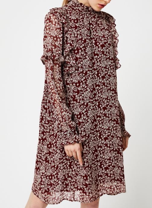 Vêtements Jolie Jolie Petite Mendigote Robe Sylvia Freesia Cherry Rouge vue droite