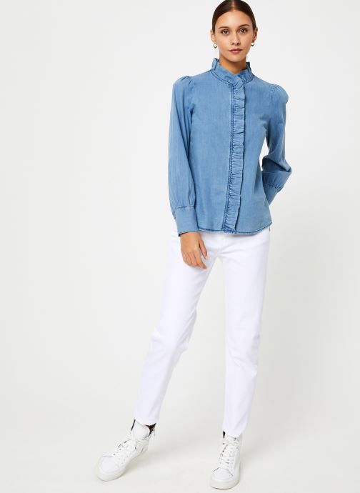 Vêtements Jolie Jolie Petite Mendigote Top Domitille Denim Bleu vue bas / vue portée sac