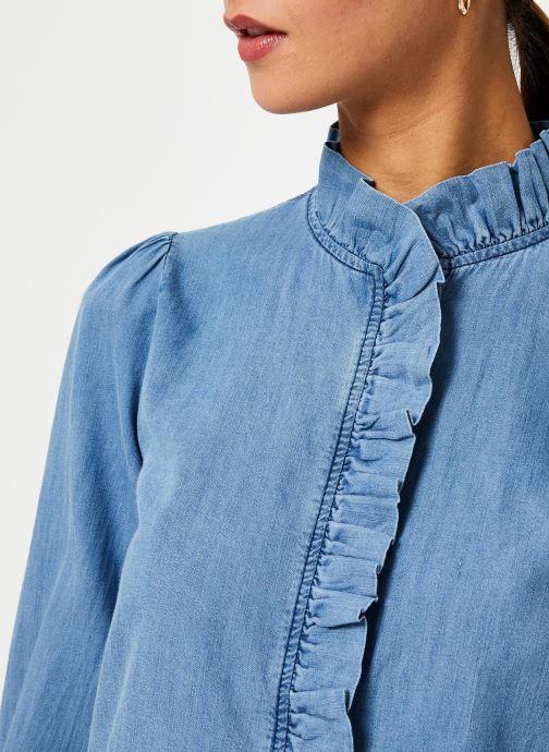 Vêtements Jolie Jolie Petite Mendigote Top Domitille Denim Bleu vue face
