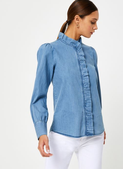 Vêtements Jolie Jolie Petite Mendigote Top Domitille Denim Bleu vue détail/paire