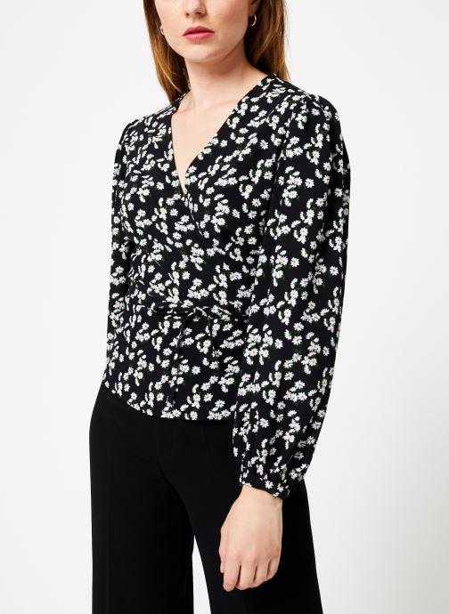 Vêtements Jolie Jolie Petite Mendigote Top France Marguerite Noir vue droite