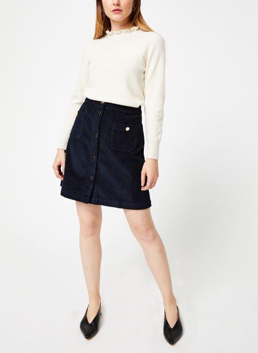 Jolie Jolie Petite Mendigote Jupe mini - Jupe Emma big corduroy (Bleu) - Vêtements (391256)
