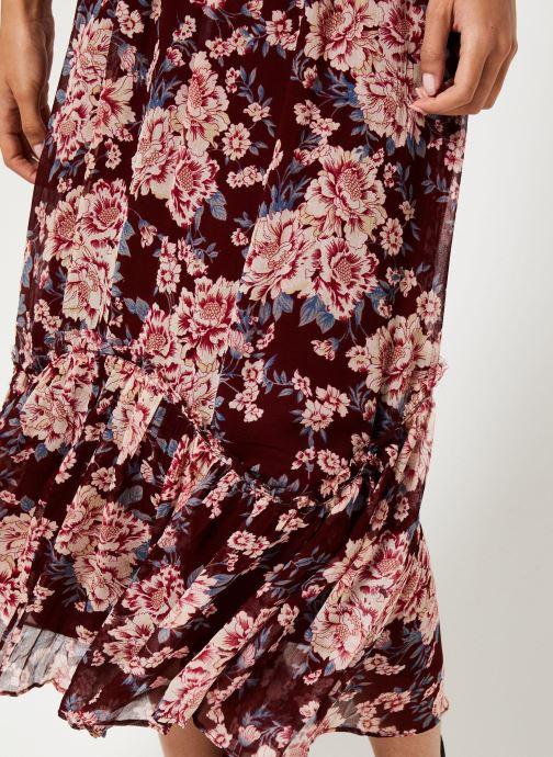 Vêtements Jolie Jolie Petite Mendigote Jupe longue Valentine Eglantine Bordeaux vue face
