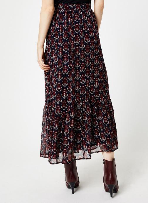 Vêtements Jolie Jolie Petite Mendigote Jupe longue Valentine Sunny Bleu vue portées chaussures