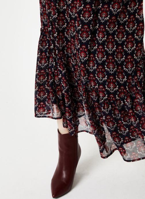 Vêtements Jolie Jolie Petite Mendigote Jupe longue Valentine Sunny Bleu vue face