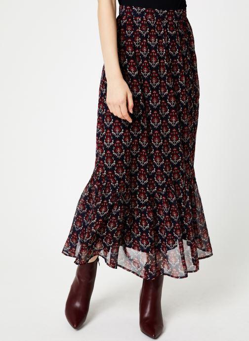 Vêtements Jolie Jolie Petite Mendigote Jupe longue Valentine Sunny Bleu vue détail/paire