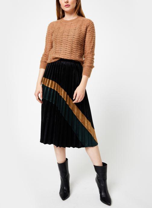Vêtements Jolie Jolie Petite Mendigote Pull Edouard Mohair Marron vue bas / vue portée sac