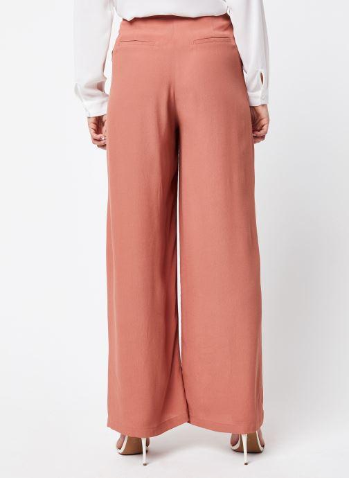 Vêtements Jolie Jolie Petite Mendigote Pantalon Gabin Rose vue portées chaussures
