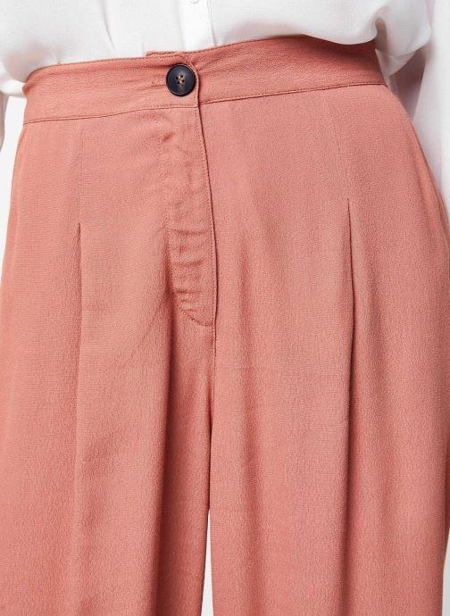 Vêtements Jolie Jolie Petite Mendigote Pantalon Gabin Rose vue face