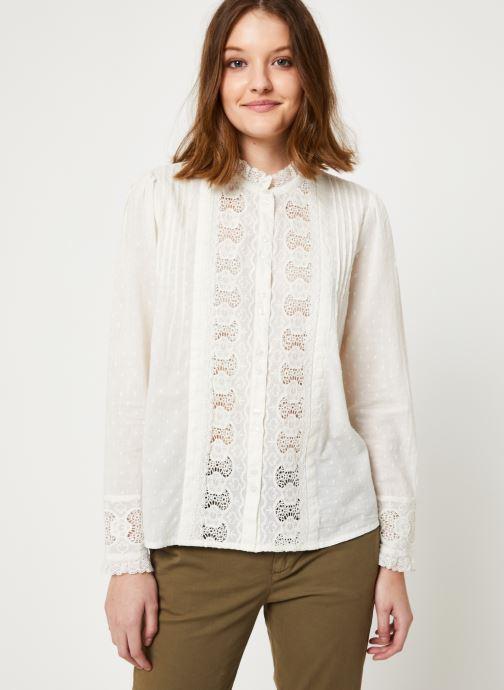 Vêtements Jolie Jolie Petite Mendigote Top Rosa Cotton Voile Blanc vue détail/paire