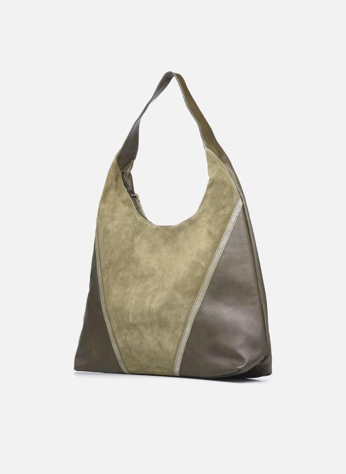 Handtaschen Sabrina JENNA grün schuhe getragen