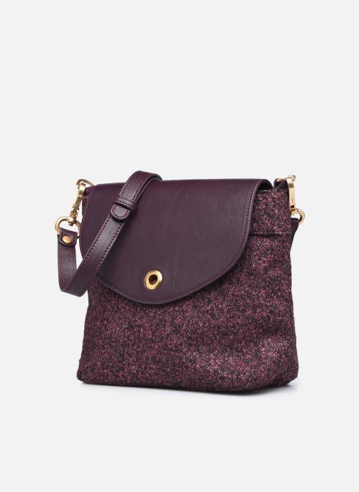 Handtaschen Sabrina ARIZONA lila schuhe getragen
