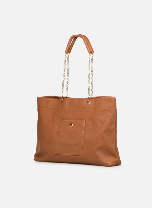 Handtassen Sabrina MEREDITH Bruin model