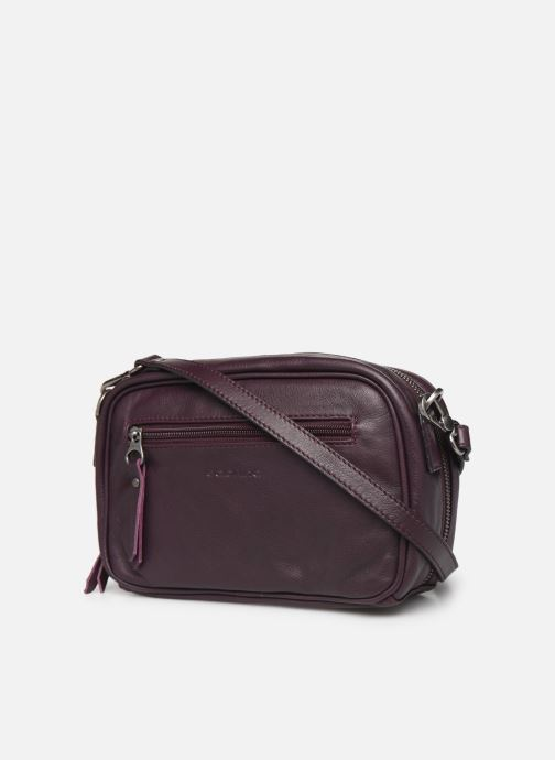 Handbags Sabrina ALEXANE Purple view from the right