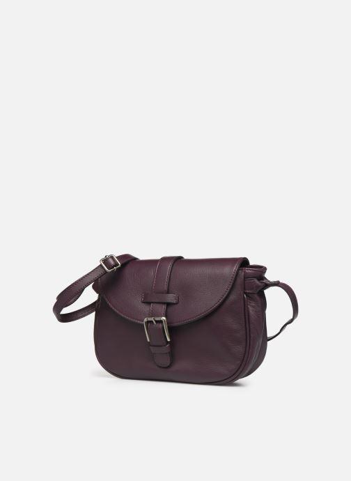 Handtaschen Sabrina LUDIVINE lila schuhe getragen