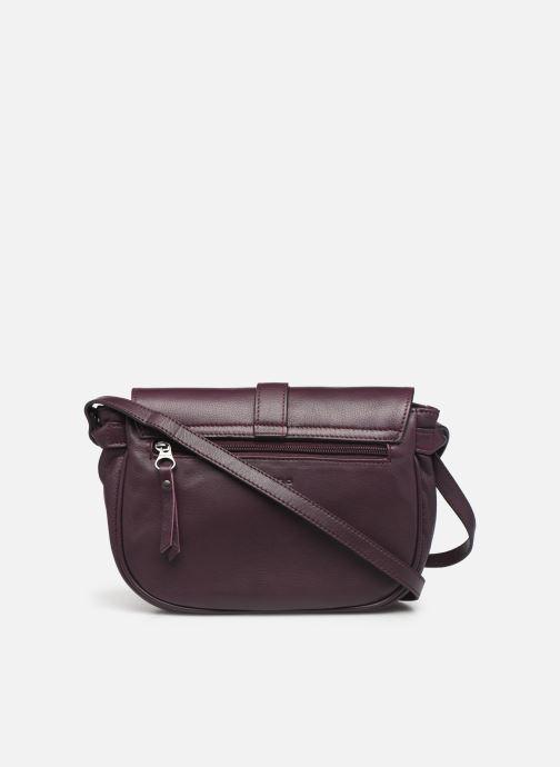 Handtaschen Sabrina LUDIVINE lila ansicht von vorne