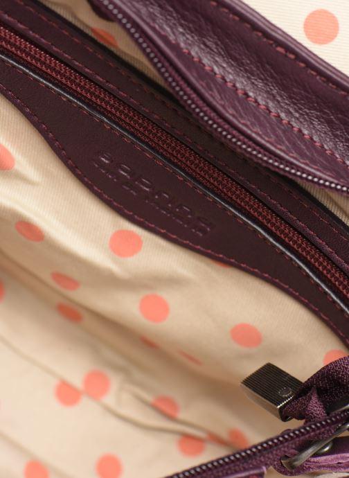 Handtaschen Sabrina LUDIVINE lila ansicht von hinten