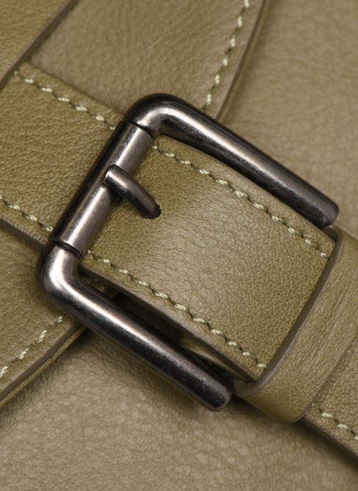 Bolsos de mano Sabrina LUDIVINE Verde vista lateral izquierda