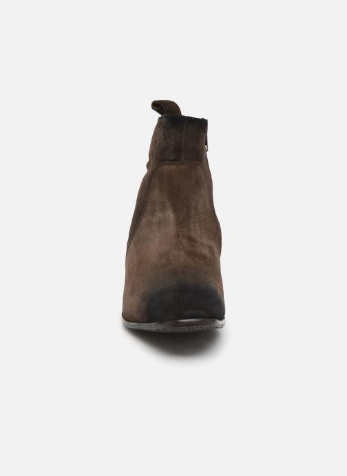 Boots en enkellaarsjes Melvin & Hamilton RYAN 4 Bruin model