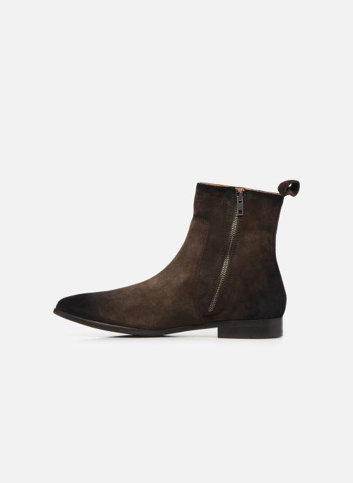 Boots en enkellaarsjes Melvin & Hamilton RYAN 4 Bruin voorkant