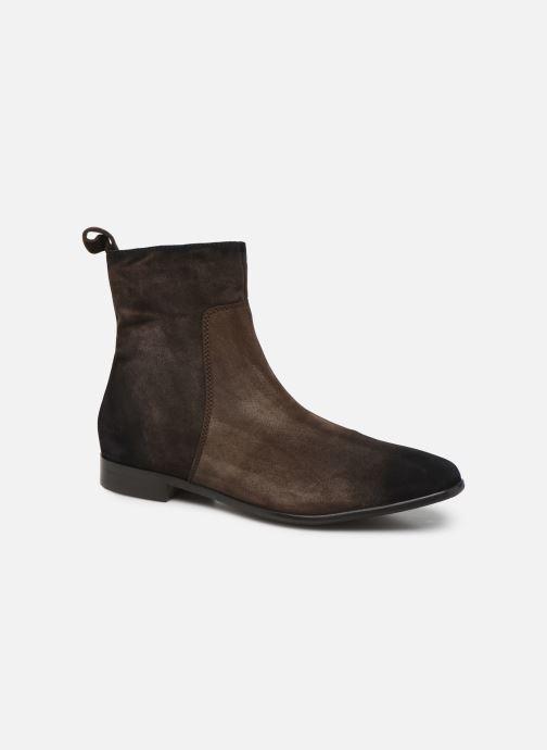 Boots en enkellaarsjes Melvin & Hamilton RYAN 4 Bruin detail