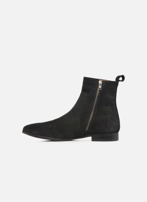 Bottines et boots Melvin & Hamilton RYAN 4 Noir vue face