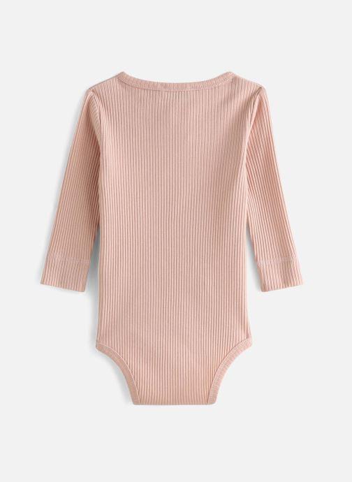 Vêtements MarMar Copenhagen Body 100-100-03 Rose vue bas / vue portée sac