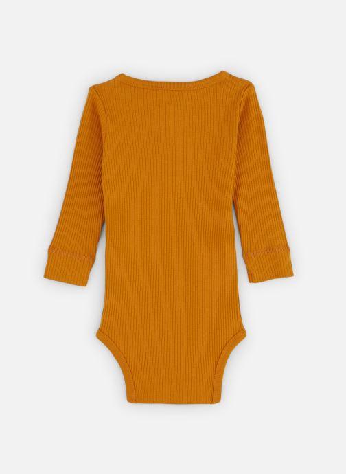 Vêtements MarMar Copenhagen Body 192-100-03 Orange vue bas / vue portée sac