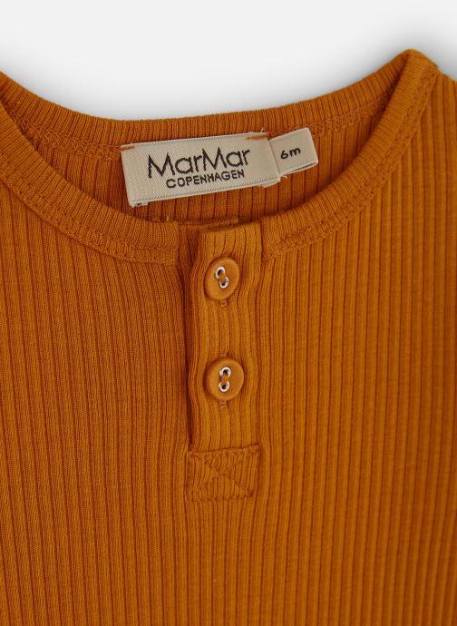 Vêtements MarMar Copenhagen Body 192-100-03 Orange vue portées chaussures