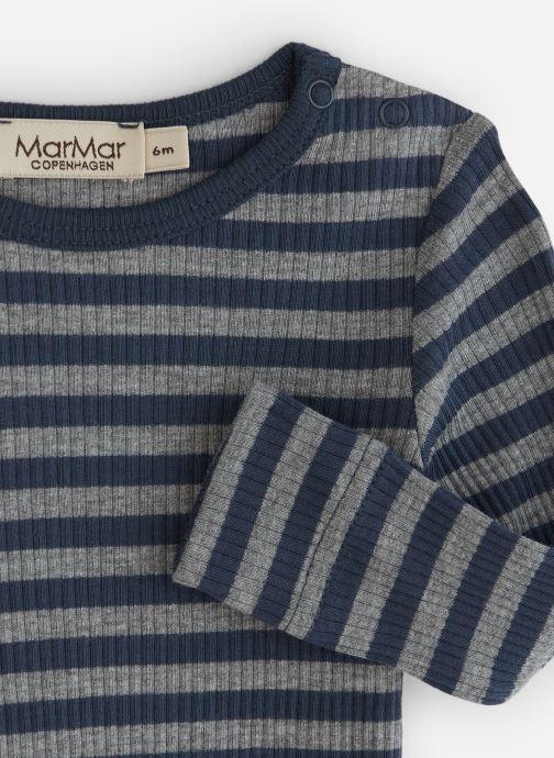 Vêtements MarMar Copenhagen Body 100-101-23 Bleu vue portées chaussures