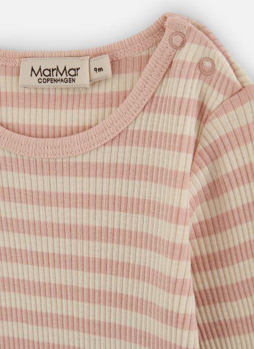 Vêtements MarMar Copenhagen Body 100-101-23 Rose vue portées chaussures