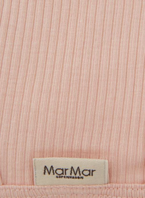 Bonnets MarMar Copenhagen Hat 100-100-20 Rose vue portées chaussures