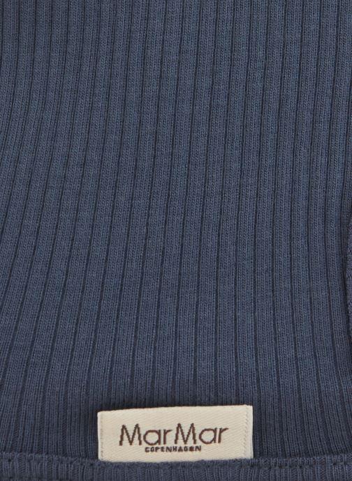 Mütze MarMar Copenhagen Hat 100-100-20 blau schuhe getragen