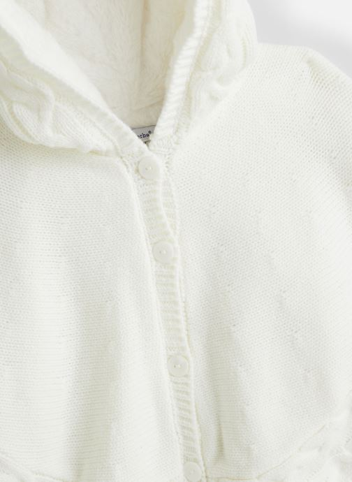 Vêtements Absorba Cape 9P44051 Blanc vue portées chaussures