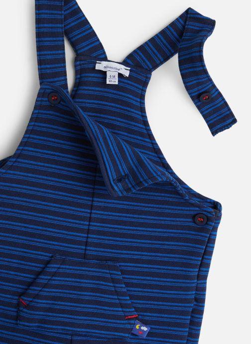 Vêtements Absorba Salopette 9P20052 Bleu vue portées chaussures
