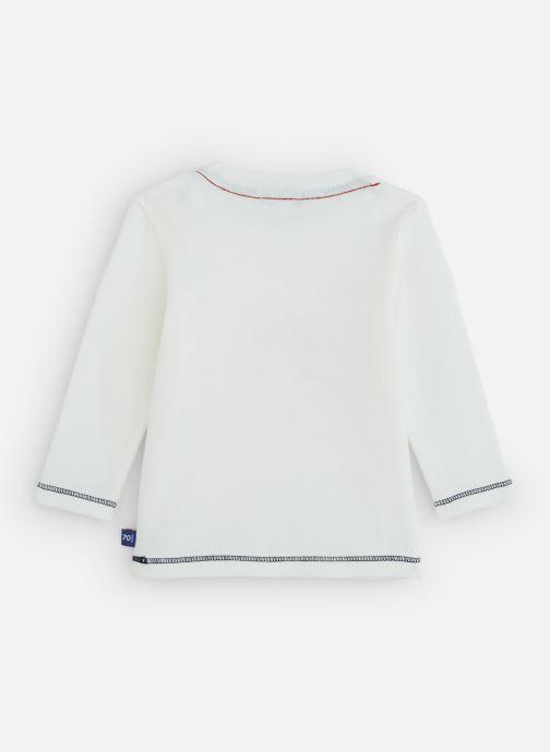 Vêtements Absorba T-Shirt manches longues coton Blanc vue bas / vue portée sac