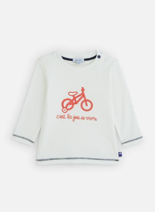 Vêtements Absorba T-Shirt manches longues coton Blanc vue détail/paire