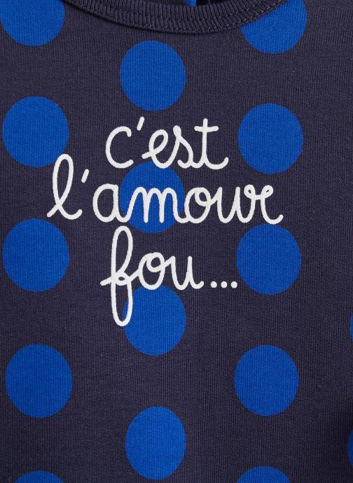 Vêtements Absorba Pyjama 9P54143 Bleu vue portées chaussures
