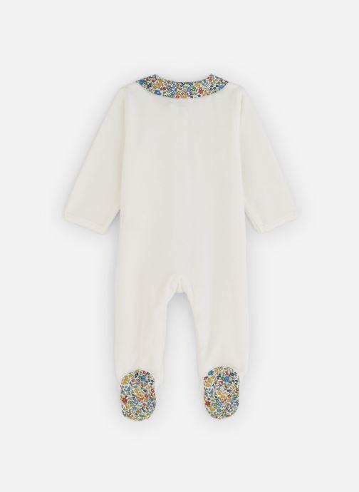Vêtements Absorba Pyjama Velours Liberty Blanc vue bas / vue portée sac