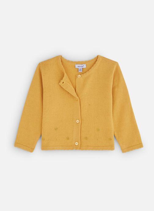 Vêtements Absorba Cardigan 9P18002 Jaune vue détail/paire