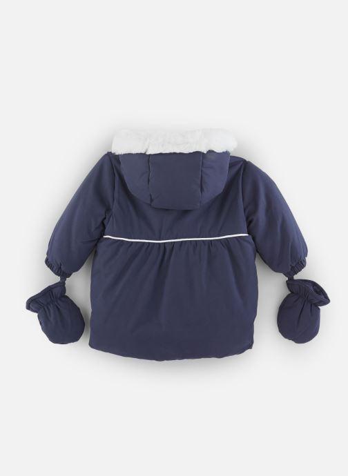 Vêtements Absorba Manteau à Capuche Marine doublé polaire Bleu vue bas / vue portée sac