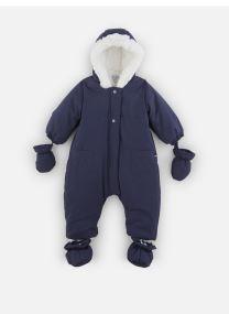 Vêtements Accessoires Combi Pilote marine à capuche - Doublée Polaire