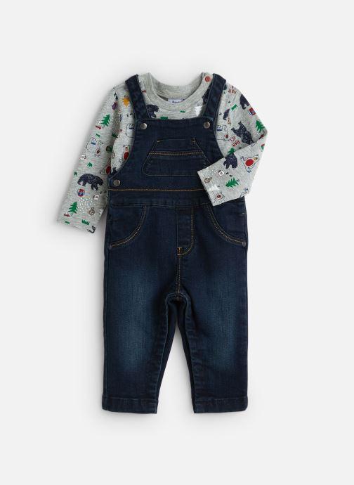 Vêtements Absorba Ensembe Long Jersey Denim Bleu vue détail/paire