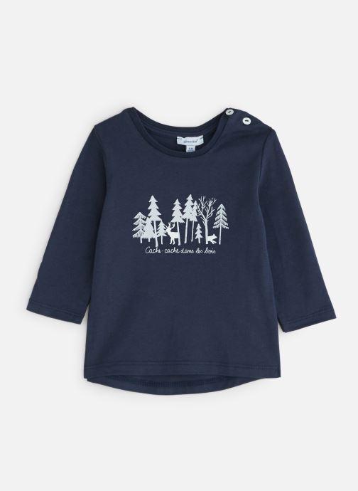 Vêtements Absorba T-Shirt 9P10192 Bleu vue détail/paire