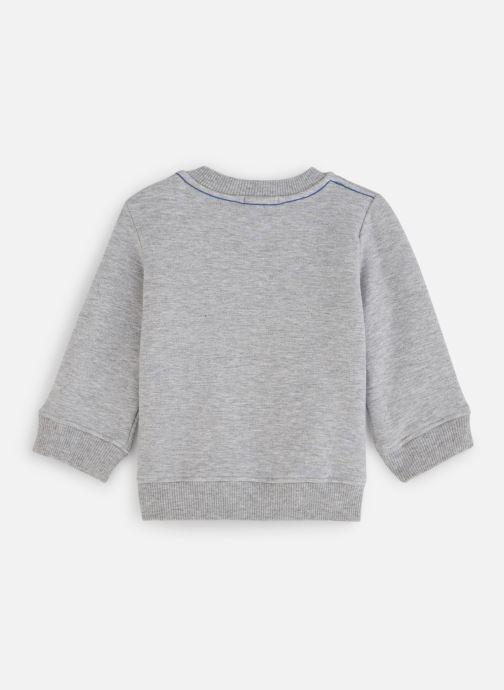 Vêtements Absorba Sweat Molleton Baroudeur Gris vue bas / vue portée sac