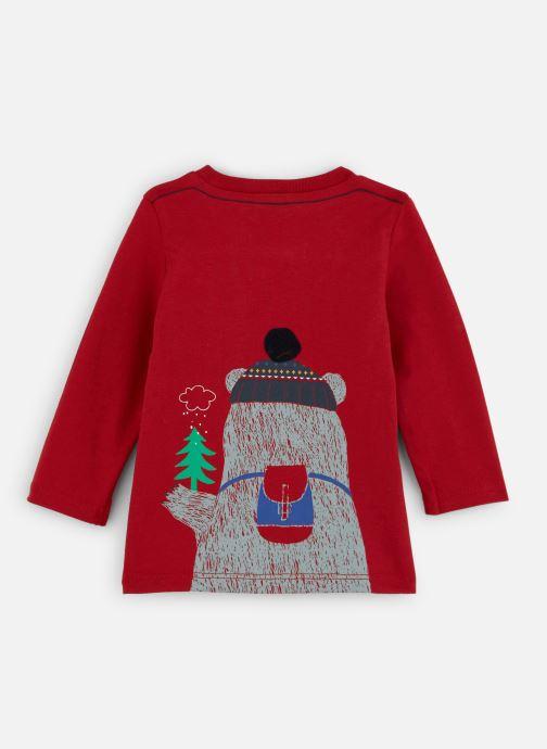 Vêtements Absorba T-shirt Ours Jersey manches longues Rouge vue bas / vue portée sac