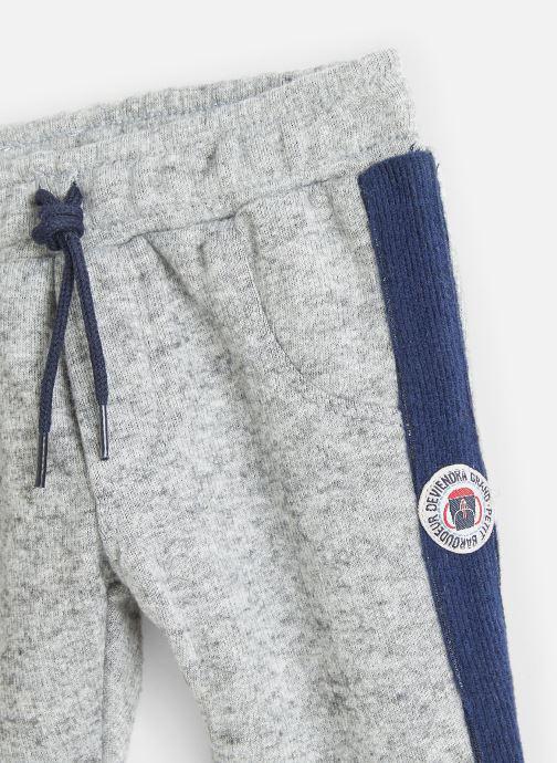 Vêtements Absorba Pantalon Confort Gris Chiné - Taille Elastiquée Gris vue portées chaussures