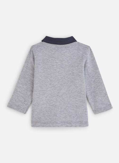 Vêtements Absorba Polo Coton Gris Motif Cerf Gris vue bas / vue portée sac