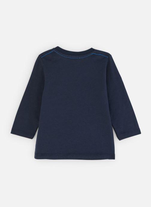 """Vêtements Absorba T-Shirt Ours """"Bivouac"""" - Jersey Bleu vue bas / vue portée sac"""